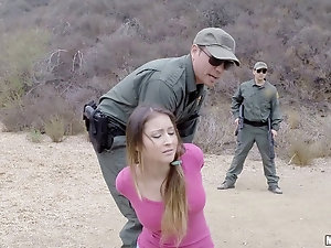 Bliss Dulce gets anal fucked and facialed in the mountains