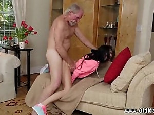 Old dad fuck young friend's daughter amateur and old gropers Duke the